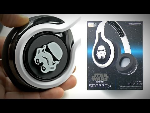 Star Wars Headphones! SMS Audio Street by 50