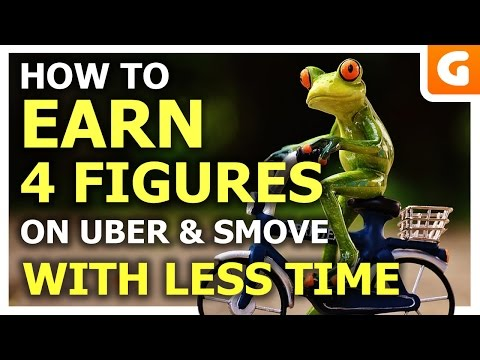 How To Earn 4 Figures With Uber & Smove With Less Time