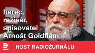 Jako dítě jsem si hrál na útěk z koncentráku, vypravuje Arnošt Goldflam