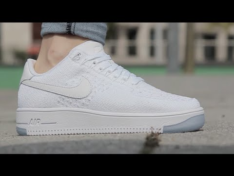 nike air force 1 flyknit dames zwart