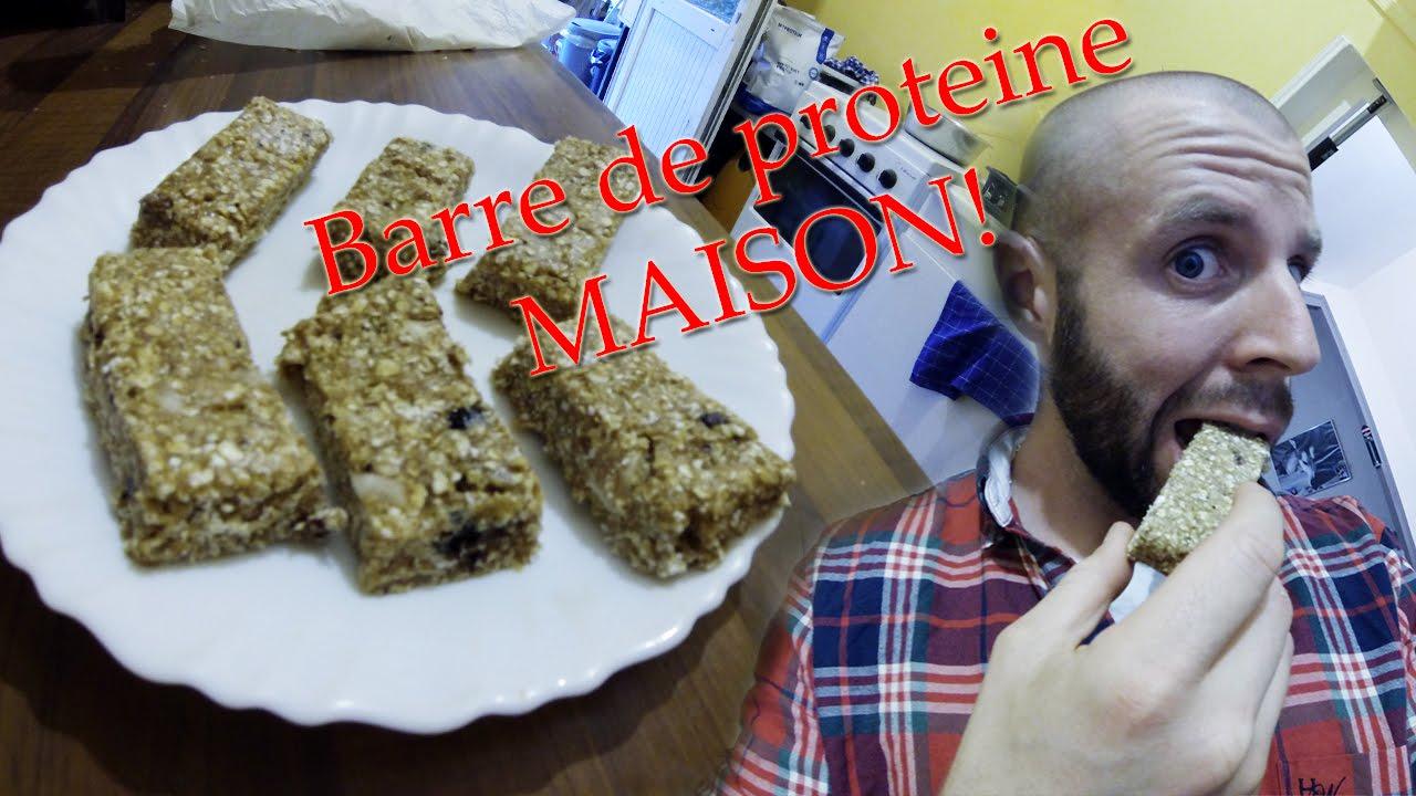 Top Recette barre de proteine MAISON. - YouTube IO36