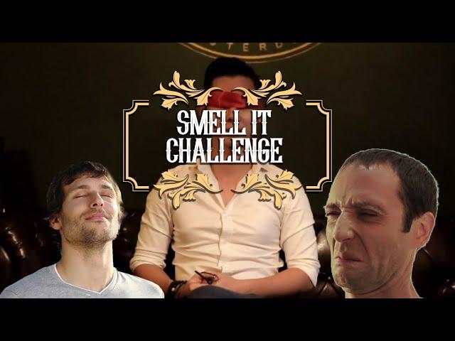 Mr. Kiss's Smell It Challenge - Thử thách ngửi mùi đoán pomade của Mr. Kiss