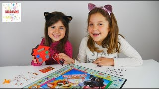 Monopoly Junior Ηλεκτρονική Τραπεζική 💰 ΔΙΑΓΩΝΙΣΜΟΣ Επιτραπέζιο Παιχνίδι Για Παιδιά