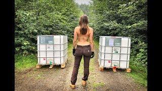 Living Off Grid in a Yurt   Rainwater Harvesting - Ep. 44
