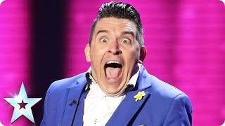 The circle of life according to Ricky K | Britain's Got Talent 2014