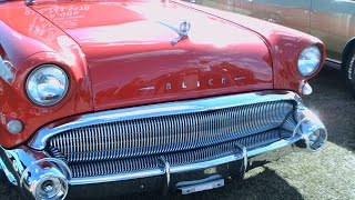 1957 Buick Century Caballero Station Wagon Red TurkeyRodRunDaytonaSpdwy112914