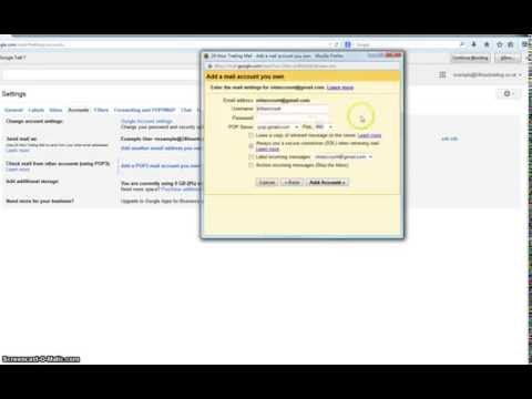 Tutorial - How to Collect Email From Old Gmail Account in New Google Apps Account