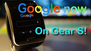 Gear S Android Update with Always on, Mic!