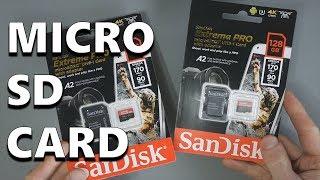 SanDisk Extreme Pro Micro SDXC Memory Card - Performance Test