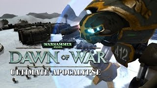 Dawn of War Ultimate Apocalypse - Might of the Imperial Guard - Baneblades and Titans Online