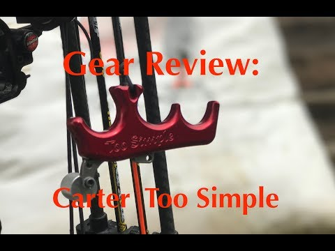 Gear Review: Carter Too Simple