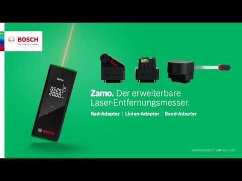 Bosch Entfernungsmesser Zamo 2 : Zamo der erweiterbare laserentfernungsmesser youtube