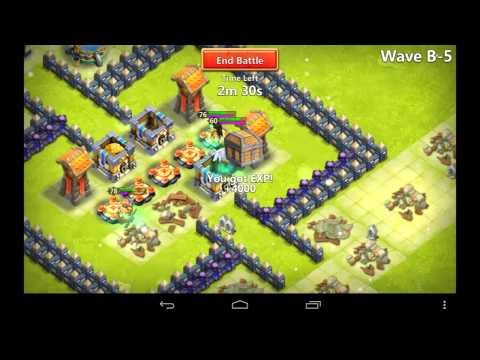 Castle Clash Strategy 33: Stuck On Here Be Monsters? Beat A-E With The GodFuzzy Base