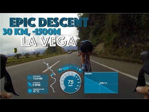 FULL 30KM QOM DESCENT WITH UP TO 80KM/H | Mango Mama