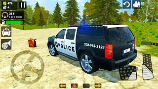 Offroad Police Cadillac Escalade Driving - Cop's 4x4 SUV Simulator - Android Gameplay