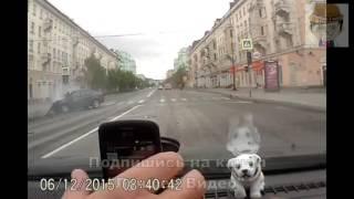 Догнал троллейбус   ДТП в Мурманске car crash лучшее видео(, 2016-04-16T11:30:00.000Z)