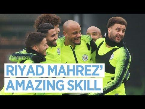 Riyad Mahrez' Amazing Skill   Training   Man City