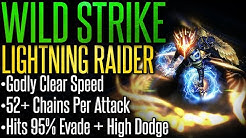 【Path of Exile 3.10 RDY】Wild Strike Lightning Raider –Build Guide– Godly Clear Speed | Fast Mapper!