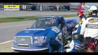 2014 Fred's 250 at Talladega Superspeedway - NASCAR Camping World Truck Series [HD]