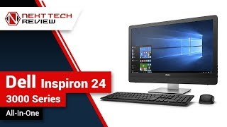 Dell Inspiron 24 3000 Series All In One Product Review  – NTR