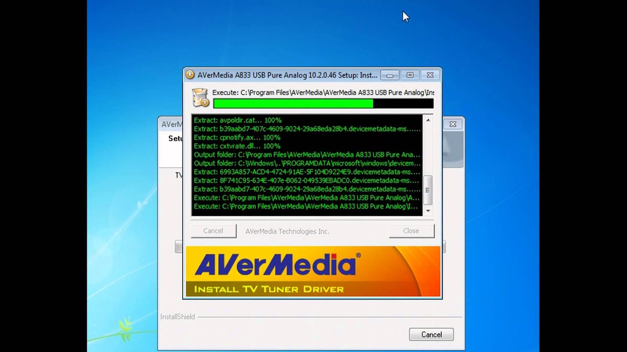 DOWNLOAD DRIVERS: AVERMEDIA A833 ANALOG