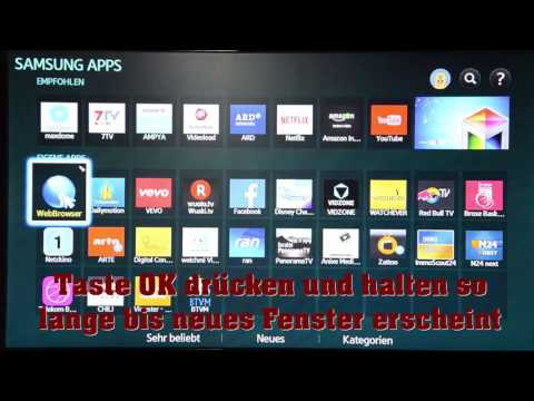 """Samsung BD H-6500 """"develop"""" APP"""