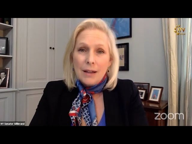 Vision of Asia - Community News | Sen. Kirsten Gillibrand at Queens Borough Board September Meeting