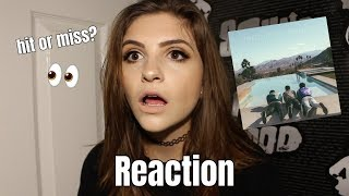 """JONAS BROTHERS """"HAPPINESS BEGINS"""" REACTION & REVIEW   ellenawhat"""