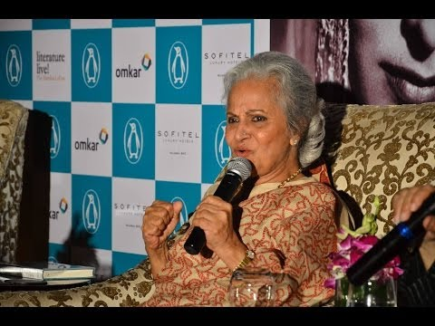 Waheeda Rehman's candid confessions - Bollywood Country Videos
