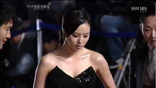 121130 Blue Dragon Awards Red carpet actors/actresses cut