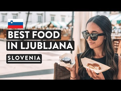 IS SLOVENIAN FOOD GOOD? Best Food Tour Ever | Cuisine in Ljubljana Travel Vlog