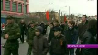 День Победы. Парад и шествие в Мурманске(http://www.b-port.com/video/item/61386.html., 2014-03-16T14:40:47.000Z)