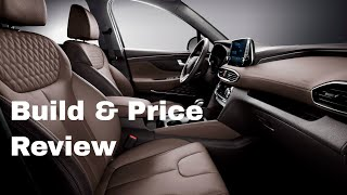 2019 Hyundai Santa Fe Ultimate 2.0T AWD - Build & Price Review: Features, Specs, Gallery, Colors