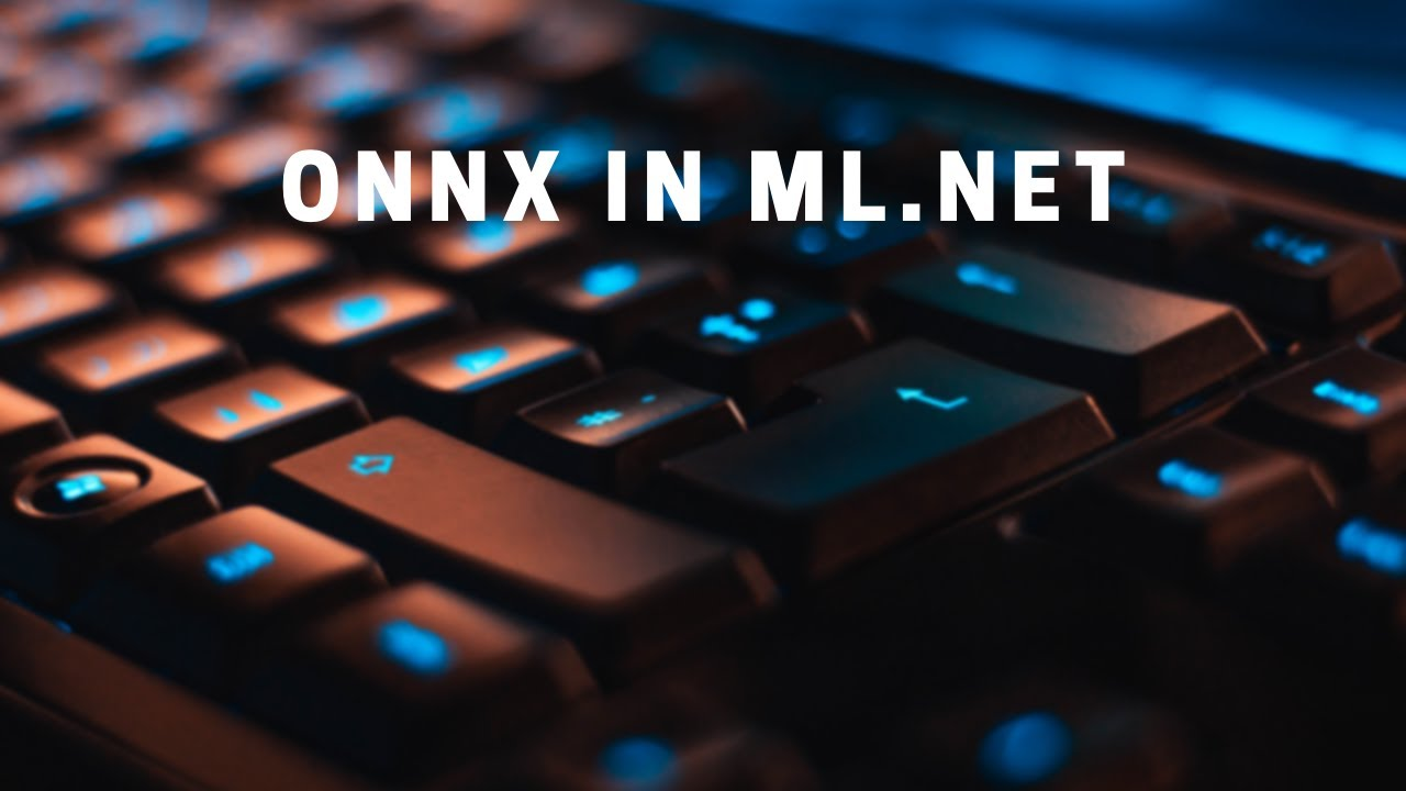 How to Read and Write an ONNX Model in ML NET