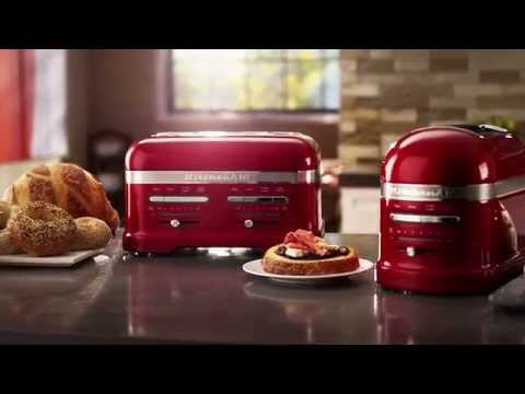 Pro Line® Series Automatic Toasters | KitchenAid - YouTube on 4 slice toaster, red toaster, cuisinart toaster oven, bread toasters, commercial toaster, bella toaster, a toaster, viking toaster, retro toaster, electric toaster, almond colored toaster, conveyor toaster, oster toaster, bread toaster, dualit toaster, commercial toasters, green toaster, best toaster, toaster oven, delonghi toaster, 4-slice toaster, hamilton beach toaster, cuisinart toaster, bagel toaster, sunbeam toaster, delonghi toasters, stainless steel toaster, tangerine toaster,