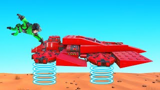 BUILD The BEST HOVERCRAFT Challenge! (Trailmakers)
