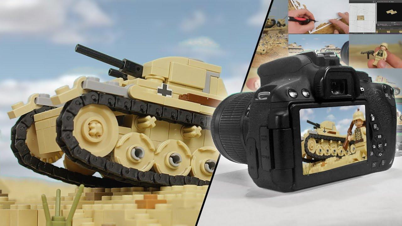 Lego Battle of El Alamein - Behind the Scenes