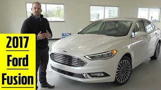 2017 Ford Fusion Exterior & Interior Detailed Walkaround In 4k