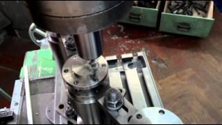 Сверление фланца, крепежные отверстия(Здесь я выкладываю материалы которые были урезаны и не включены на канале Pashkin Frezer., 2015-02-07T19:44:30.000Z)