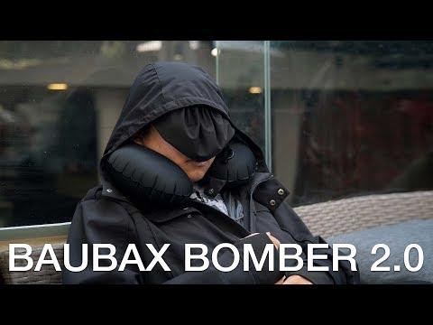 """Trên """"thân"""" áo khoác đa năng Baubax Bomber 2.0"""