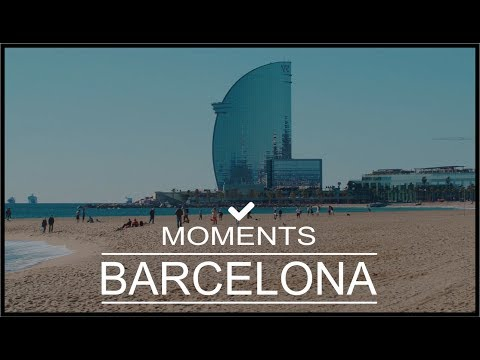 MOMENTS IN BARCELONA | TRAVEL GUIDE | DAY TRIP DRONE
