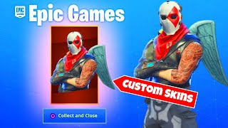 *CREATE YOUR OWN SKINS* HOW TO USE CUSTOM SKINS IN FORTNITE BATTLE ROYALE SEASON X!! (Season 10)