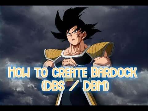 How to create Bardock (DBS/ DB Minus) in XENOVERSE 2 |