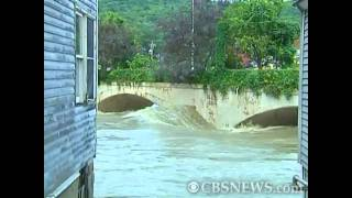 Irene's catastrophic flooding hits Mass. town