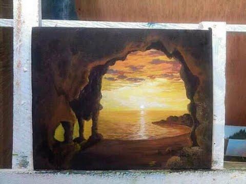 Cave Painting Tutorial by Bernie John Velara
