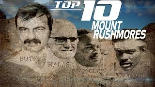 Top 10 NFL Mount Rushmores | NFL Films