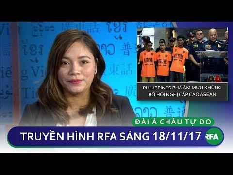 Thời sự sáng 18/11/17 | Philippines phá âm mưu khủng bố Hội nghị cấp cao ASEAN | © Official RFA