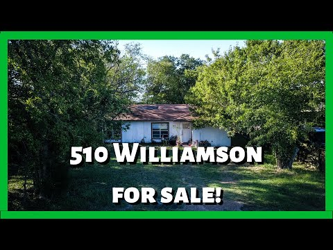 510 Williamson, Bryan, TX Just Listed