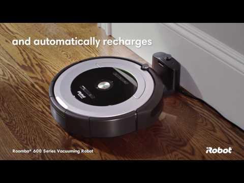 iRobot Roomba® 600 Series Robot Vacuum: