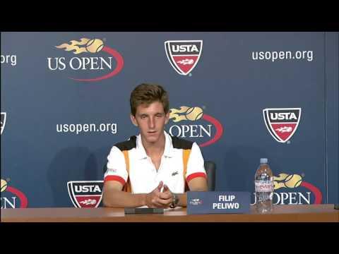 2012 US Open Press Conferences: Filip Peliwo (Junior Boys Final)